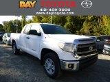 2014 Super White Toyota Tundra SR5 Double Cab 4x4 #86558837