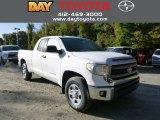 2014 Super White Toyota Tundra SR5 Double Cab 4x4 #86558836
