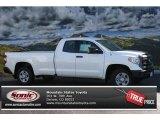 2014 Super White Toyota Tundra SR Double Cab 4x4 #86558708