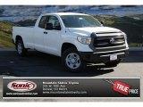 2014 Super White Toyota Tundra SR Double Cab 4x4 #86558707