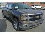2014 Brownstone Metallic Chevrolet Silverado 1500 LTZ Crew Cab 4x4 #86559322