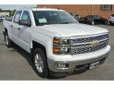 2014 Summit White Chevrolet Silverado 1500 LT Crew Cab 4x4 #86559321