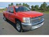 2013 Victory Red Chevrolet Silverado 1500 LT Crew Cab #86559313