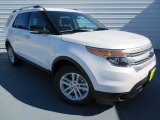 2014 White Platinum Ford Explorer XLT #86559121