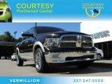 2011 Rugged Brown Pearl Dodge Ram 1500 Laramie Crew Cab 4x4 #86559408