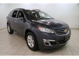 2013 Atlantis Blue Metallic Chevrolet Traverse LT #86559301
