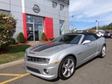 2012 Silver Ice Metallic Chevrolet Camaro SS Convertible #86559197