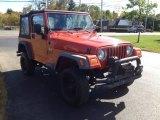 2006 Impact Orange Jeep Wrangler X 4x4 #86559192