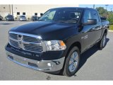 2014 Black Ram 1500 Big Horn Crew Cab 4x4 #86616079