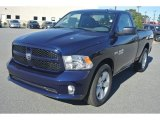 2014 True Blue Pearl Coat Ram 1500 Express Regular Cab #86616075