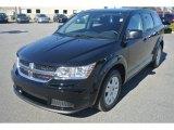 2014 Pitch Black Dodge Journey Amercian Value Package #86616074