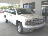 2014 White Diamond Tricoat Chevrolet Silverado 1500 LT Crew Cab 4x4 #86616198