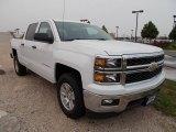 2014 Summit White Chevrolet Silverado 1500 LT Crew Cab 4x4 #86615718