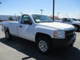 2013 Summit White Chevrolet Silverado 1500 Work Truck Regular Cab 4x4 #86615716
