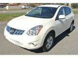 2013 Pearl White Nissan Rogue S AWD #86616059