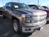 2014 Brownstone Metallic Chevrolet Silverado 1500 LT Crew Cab 4x4 #86615813