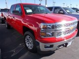2014 Victory Red Chevrolet Silverado 1500 LT Crew Cab 4x4 #86615812