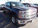2014 Black Chevrolet Silverado 1500 LT Crew Cab 4x4 #86615811