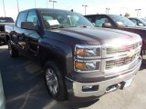 2014 Tungsten Metallic Chevrolet Silverado 1500 LT Crew Cab 4x4 #86615805