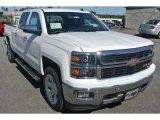 2014 Summit White Chevrolet Silverado 1500 LTZ Crew Cab 4x4 #86616045