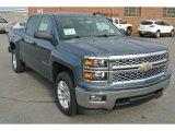 2014 Blue Granite Metallic Chevrolet Silverado 1500 LT Crew Cab 4x4 #86616044