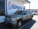 2009 Graystone Metallic Chevrolet Silverado 1500 LT Crew Cab #86615433