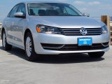 2014 Reflex Silver Metallic Volkswagen Passat 2.5L S #86616153