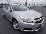 2013 Silver Ice Metallic Chevrolet Malibu ECO #86615781