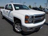 2014 Summit White Chevrolet Silverado 1500 LT Crew Cab 4x4 #86615774
