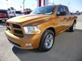 2012 Dodge Ram 1500 ST Quad Cab 4x4 Data, Info and Specs