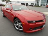 2014 Crystal Red Tintcoat Chevrolet Camaro LT/RS Coupe #86615766
