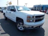 2014 Summit White Chevrolet Silverado 1500 LT Z71 Crew Cab 4x4 #86615762