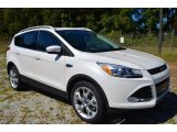 2014 White Platinum Ford Escape Titanium 2.0L EcoBoost #86615530