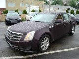 2009 Black Cherry Cadillac CTS 4 AWD Sedan #8658727