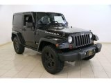 2012 Black Jeep Wrangler Rubicon 4X4 #86616003