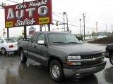 2000 Charcoal Gray Metallic Chevrolet Silverado 1500 Z71 Extended Cab 4x4 #8652559