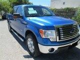 2012 Blue Flame Metallic Ford F150 XLT SuperCrew #86615387