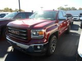 2014 Sonoma Red Metallic GMC Sierra 1500 SLT Double Cab 4x4 #86615983