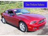 2014 Ruby Red Ford Mustang V6 Coupe #86615266