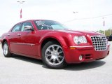 2008 Inferno Red Crystal Pearl Chrysler 300 C HEMI #8647373