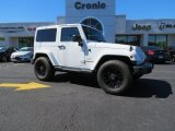 2012 Bright White Jeep Wrangler Sahara 4x4 #86676225