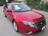 2011 Red Candy Metallic Ford Fusion SEL V6 #86676028