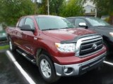 2010 Salsa Red Pearl Toyota Tundra SR5 Double Cab 4x4 #86676561