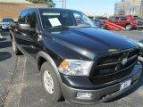 2009 Brilliant Black Crystal Pearl Dodge Ram 1500 TRX Crew Cab #86676020