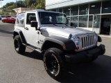 2007 Jeep Wrangler Bright Silver Metallic