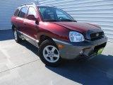 2004 Merlot Red Hyundai Santa Fe GLS #86676293