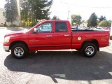 2006 Flame Red Dodge Ram 1500 ST Quad Cab 4x4 #86676019