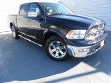 2012 True Blue Pearl Dodge Ram 1500 Laramie Crew Cab 4x4 #86676289