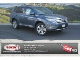 2013 Shoreline Blue Pearl Toyota Highlander Limited 4WD #86675921