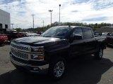 2014 Black Chevrolet Silverado 1500 LT Crew Cab 4x4 #86676182